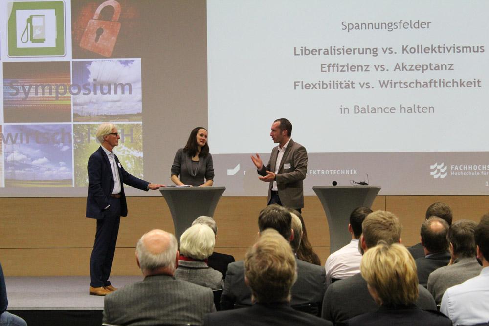 20. Symposium Energiewirtschaft Podiumsdiskussion