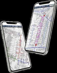 GIS Netzwerkverfolgung App 234x300